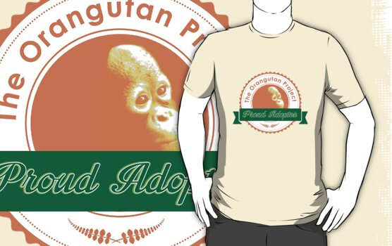 Proud Adopter by The Orangutan Project