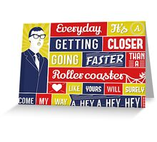 Everyday - Buddy Holly Greeting Card