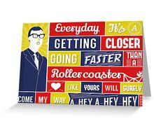 Everyday - Buddy Holly Greeting Card