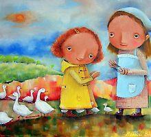 Goose Girls by Monica Blatton