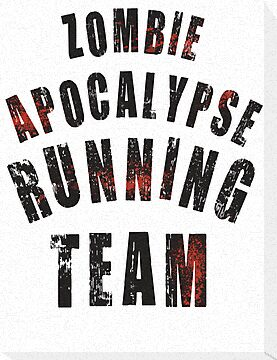 Zombie Apocalypse Running Team by Look Human