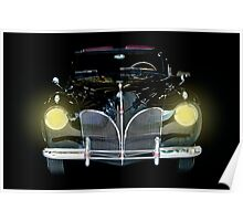 1941 Lincoln Convertible  Poster