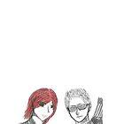 Tasha and Clint by Zephyrial