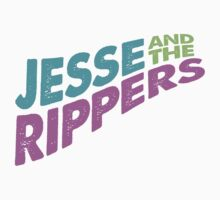 Jesse and the Rippers Concert Tee Shirt by typeo