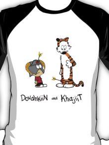 Dovahkiin and Khajiit T-Shirt