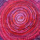 Sits in the Middle & Knows original painting by CrowRisingMedia