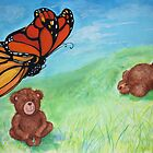 Butterfly Teddy by Monica Batiste