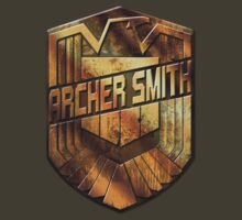 Custom Dredd Badge - (Archer Smith) by CallsignShirts