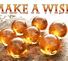 7 Dragon Balls and make a wish by jpmdesign