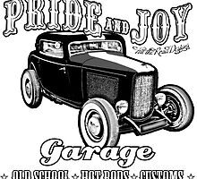 Pride and Joy Hot Rod Garage by htrdesigns