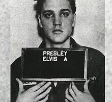 Elvis Mugshot by Crystal Friedman