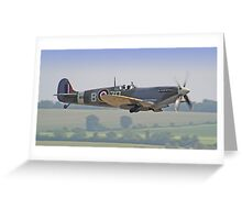 MH434 Scramble - Duxford Flying Legends 2013 Greeting Card