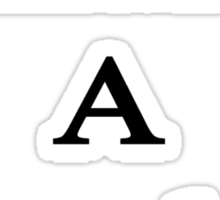 Finally A Plumber  Sticker