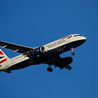 British Airways Airbus A320-232 G-EUYB by justbmac