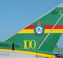 Centenary Tail: Eurofighter EF-2000 Typhoon FGR4 ZJ936 by justbmac