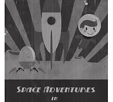 Space adventures, In Space!  by Luke Barclay