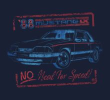 88 Mustang LX - No Need For Speed by MWMcCullough