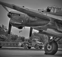 Bomber Command 1944 - HDR - BW by Colin J Williams Photography