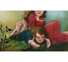 Bilbo and Belladonna Photographic Print