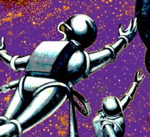 Galactic Patrol Sticker
