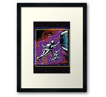Galactic Patrol Framed Print
