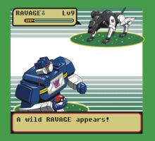 A Wild Ravage Appears!  by coinbox tees