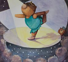 Ballet Bear by Monica Batiste