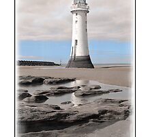 Perch Rock Afternoon by DavidWHughes