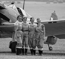 Spitfire Girls by Nigel Bangert