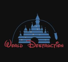 Walt Disney Destruction by logo-tshirt