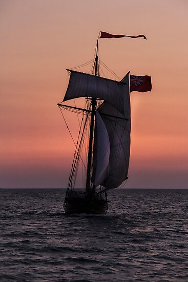 Tall Ship in South Haven by naturesangle