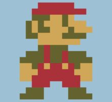 8 bit Mario V.2 Kids Clothes