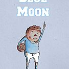 Blue Moon by Calum Margetts Illustration