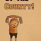 Up the County! by Calum Margetts Illustration