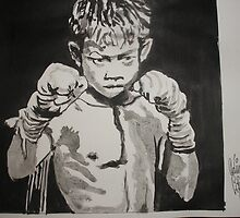 Jr Fighter by Colin  Laing
