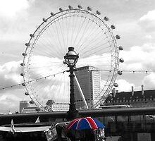 London Eye by Herbal-Gerbil