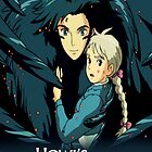 Howls Movie Castle (Howl & Sophie) by GiraffesAreCool