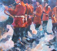 Soldiers - Marching British Guards Band by Ballet Dance-Artist
