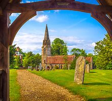 St Gregorys Welford by mlphoto