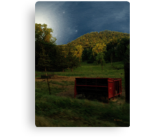 Wisconsin Valley Moonrise Canvas Print