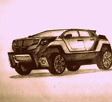 New Concept SUV by Pradeep Yadav