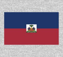 Haiti Flag by cadellin