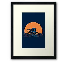 The Great Pumpkin King Framed Print