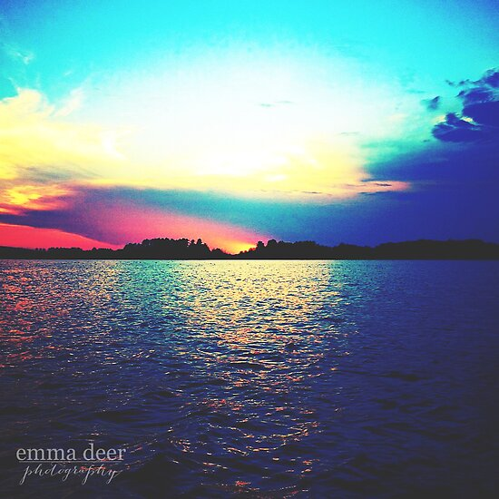 Sea of Color by Emma Deer Photography