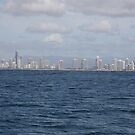 Gold Coast from the Sea by Saraswati-she