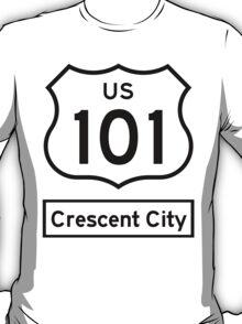US 101 - Crescent City T-Shirt