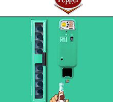 Vintage Dr. Pepper Vending Machine by Scriptron