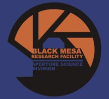 black mesa aperture science  by goodluck