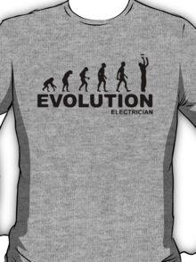 Evolution of an electrician T-Shirt