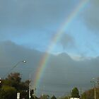Rainbow over Adelaide by Joan Wild